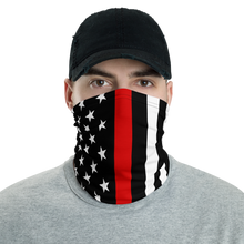 Load image into Gallery viewer, Thin Red Line Mask - Bombero Designs for firefighters