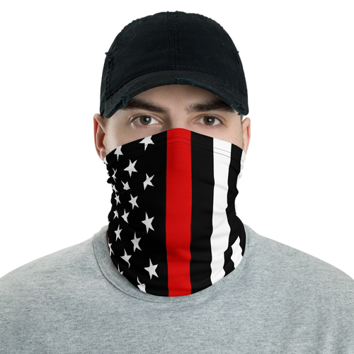 Thin Red Line Mask - Bombero Designs for firefighters