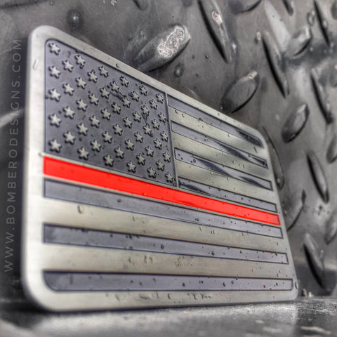 Thin Red Line Vehicle Emblem