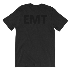 Blacked Out - EMT - Bombero Designs for firefighters