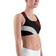 Load image into Gallery viewer, Thin Red LIne Sports bra - Bombero Designs for firefighters