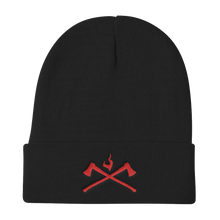 Load image into Gallery viewer, Axes Beanie - Bombero Designs for firefighters