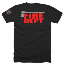 Load image into Gallery viewer, Fire Dept Ax - Bombero Designs for firefighters