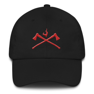 Axes Hat - Bombero Designs for firefighters