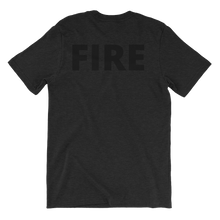 Load image into Gallery viewer, Blacked Out - Fire - Bombero Designs for firefighters