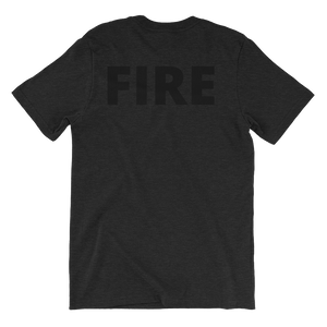 Blacked Out - Fire - Bombero Designs for firefighters