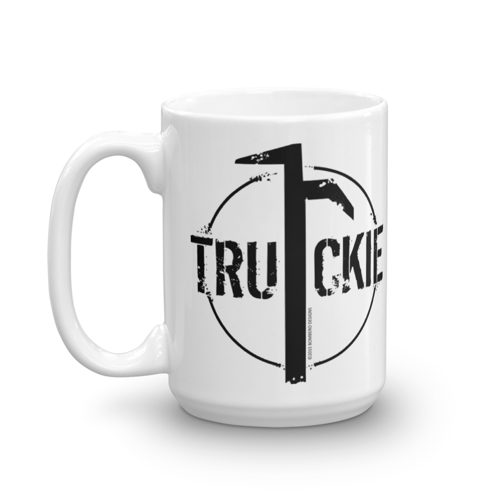 Truckie Mug - Bombero Designs for firefighters