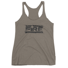 Load image into Gallery viewer, Fire Splatter - Women's Racerback - Bombero Designs for firefighters