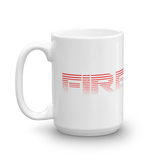 343 Mug - Bombero Designs for firefighters