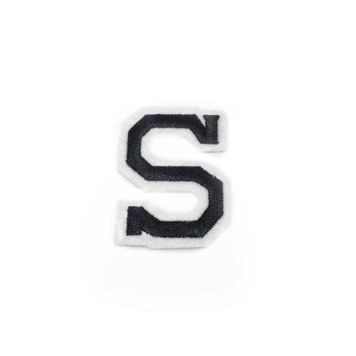 LETTER S patch
