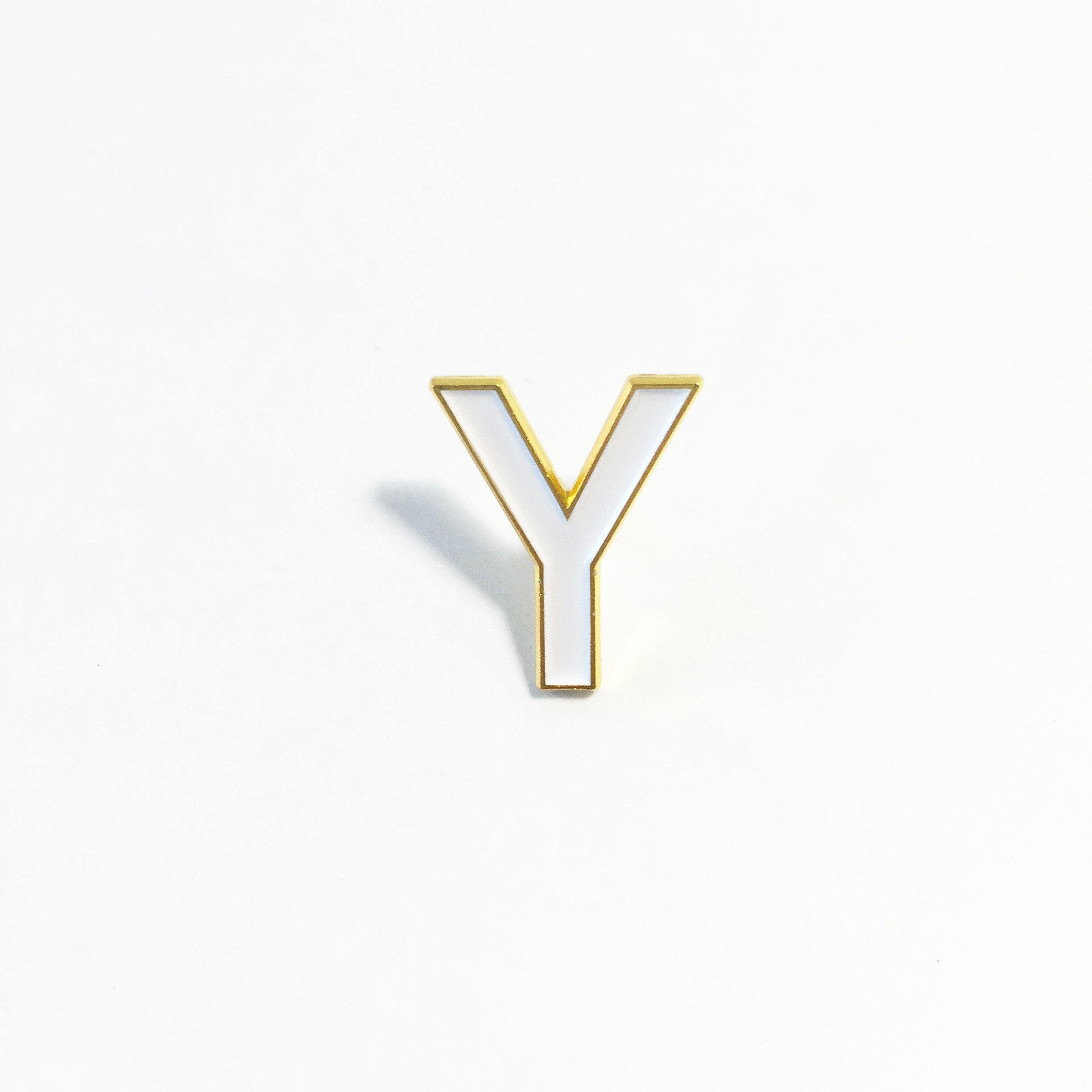LETTER Y pin