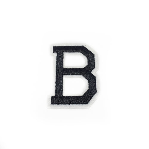 LETTER B patch