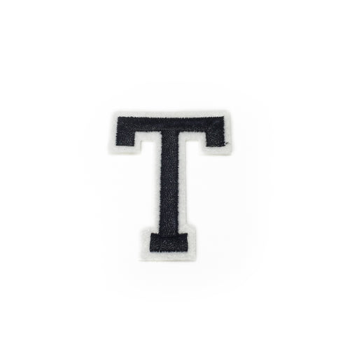 LETTER T patch