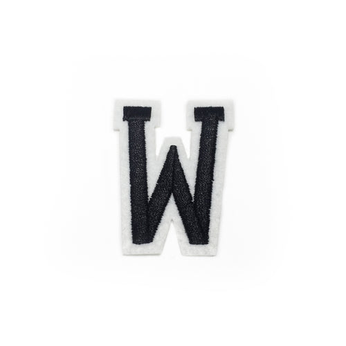 LETTER W patch