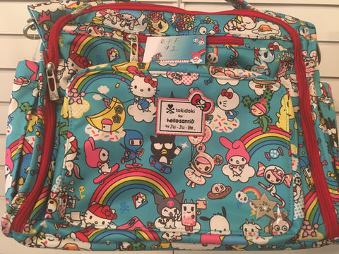 tokidoki for Hello Sanrio by Ju-Ju-Be - Rainbow Dreams B.F.F.