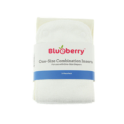 Blueberry - One Size Combination Inserts