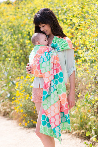 Tula Hexadot Sherbert Wrap Conversion Ring Sling