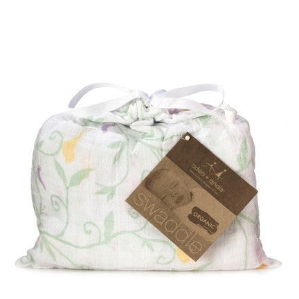 aden + anais enchanted organic swaddle