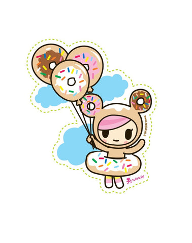Donutella Balloon Sticker