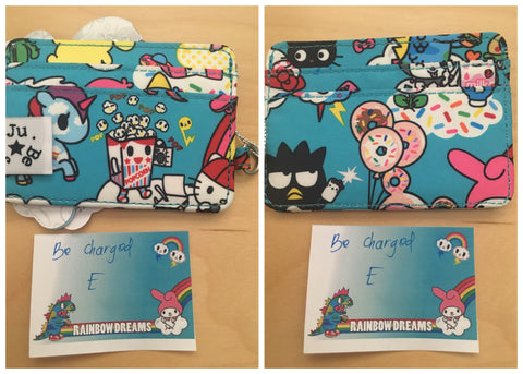 tokidoki for Hello Sanrio by Ju-Ju-Be - Rainbow Dreams Be Charged