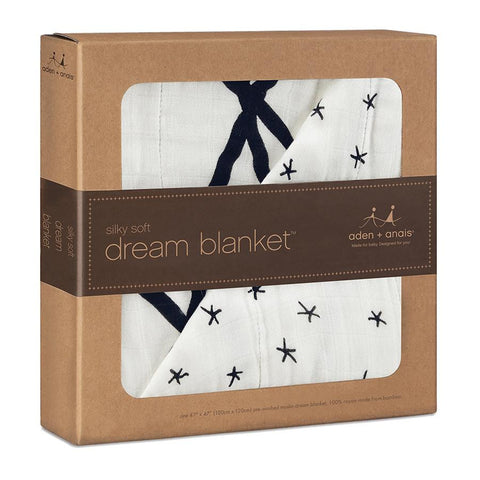aden + anais silky soft dream blanket - midnight etoile