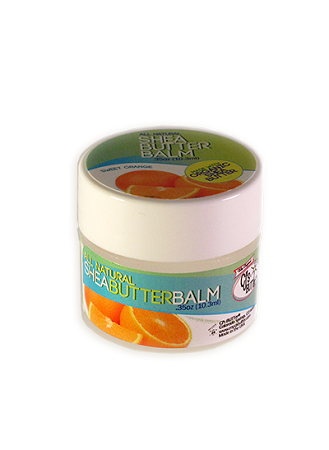 CJ's BUTTer Shea Butter Balm .35 oz Mini - Sweet Orange