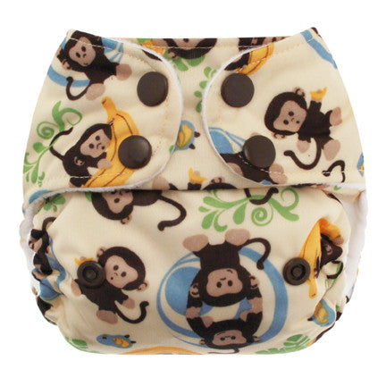 Blueberry - Mini Deluxe Cloth Diaper