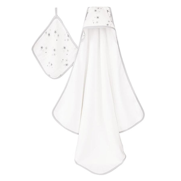 aden + anais hooded towel set - twinkle