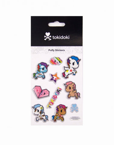 tokidoki - Unicorno Puffy Stickers