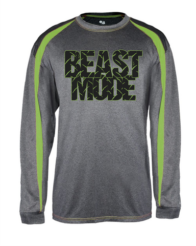 BEAST MODE Fusion Long Sleeve Tee