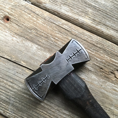 1 pound decorated bench hammer