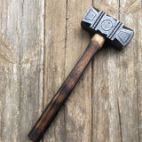 6 pound decorated rounding hammer (soft)