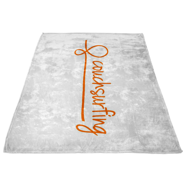 White Fleece Blanket (S, M, L)