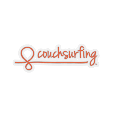 Couchsurfing Sticker (3in / 7.5cm)