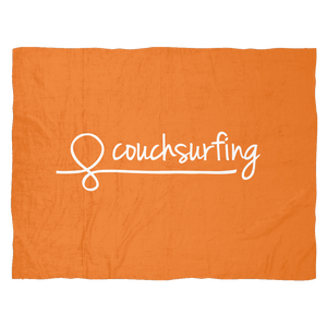 Couchsurfing Fleece Blanket