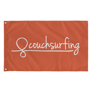 Couchsurfing Flag