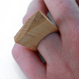 Carved Single Ring