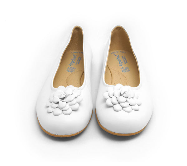White Flats With Flower