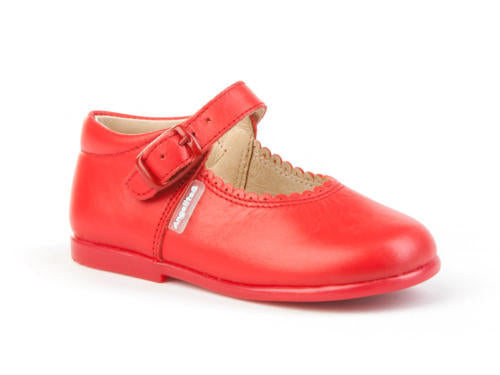 Walker shoes red Mary janes leather shoes, toddler shoes,  girl shoes