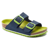 Birkenstock Arizona | Vibrant Blue - Green Hearts Pink