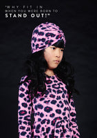 Rock Your Baby Lit Cloche | Pink Leopard - Green Hearts Pink
