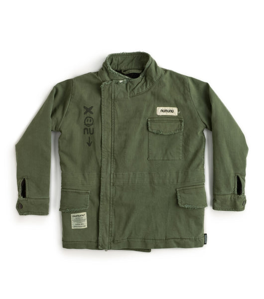 Nununu Heavy Lined Military Jacket | Olive
