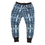 Agatha Cub Sweat Pant | Aspen Navy - Green Hearts Pink
