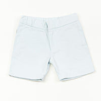 Agatha Cub Chino Short | Powder - Green Hearts Pink