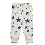 Boys&Girls Leggings | Dark Stars - Green Hearts Pink