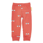 Boys&Girls Leggings | Eyes - Green Hearts Pink