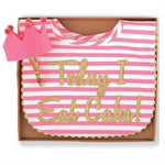 Mud Pie | Cake Smashing Set - Green Hearts Pink