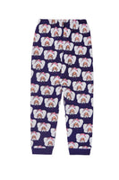 Gardner And The Gang Leggings | Edina Polar Bear - Green Hearts Pink