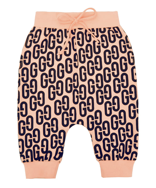 Gardner and the Gang Shorts | GG - Green Hearts Pink
