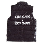 Gardner and the Gang Vest | Girl Gang + Boy Gang - Green Hearts Pink